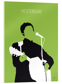 Akrylbillede  Yesterday - Paul McCartney Minimal Music poster - chungkong