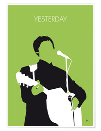 Premium-plakat Yesterday - Paul McCartney