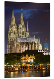 Akrylbillede  cathedral of cologne - Dieterich Fotografie