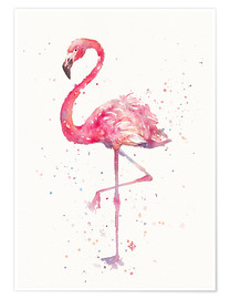 Premium-plakat  A Flamingos Fancy - Sillier Than Sally