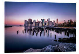 Akrylbillede  Sunrise New York City - Sören Bartosch