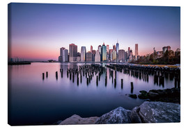 Lærredsbillede  Sunrise New York City - Sören Bartosch