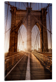 Akrylbillede  Brooklyn Bridge NYC - Sören Bartosch
