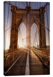 Lærredsbillede  Brooklyn Bridge NYC - Sören Bartosch
