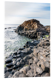 Akrylbillede  The Giants Causeway - Michael Runkel