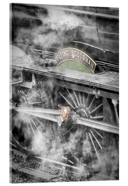 Akrylbillede  The Flying Scotsman steam-train - John Potter