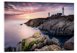 Akrylbillede  Lighthouse of St. Mathieu (France / Brittany) - Kristian Goretzki