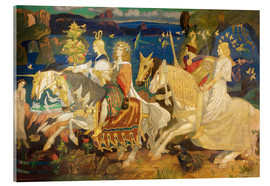 Akrylbillede  Riders of the Sidhe - John Duncan