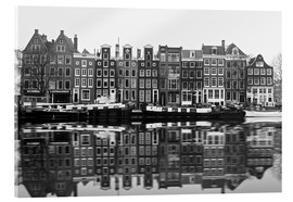 Akrylbillede  Reflections of Amsterdam - George Pachantouris