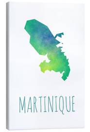 Lærredsbillede  Martinique - Stephanie Wittenburg