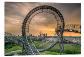 Akrylbillede  Tiger & Turtle Magic Mountain Duisburg - Dennis Stracke