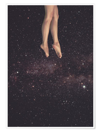 Premium-plakat Hung in Space