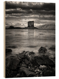 Print på træ  Castle Stalker, Scotland - Martina Cross