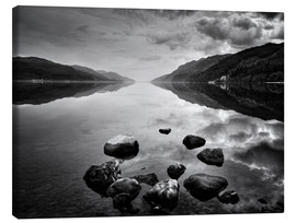 Lærredsbillede  Loch Ness, Scotland - Martina Cross