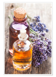 Premium-plakat  Oils from the Spa