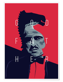 Premium-plakat Godfather