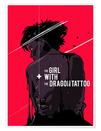 Premium-plakat The Girl with The Dragon Tattoo