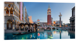 Akrylbillede  The Venetian Hotel on South Las Vegas Boulevard - Rainer Mirau