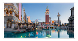 Premium-plakat  The Venetian Hotel on South Las Vegas Boulevard - Rainer Mirau