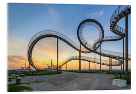 Akrylbillede  Tiger and Turtle Duisburg - Michael Valjak