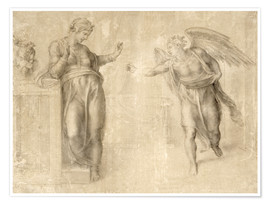 Premium-plakat The Annunciation to Mary