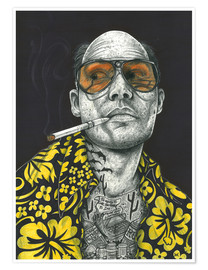 Premium-plakat  Fear and Loathing - Inked Ikons