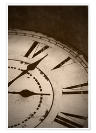 Premium-plakat  picture of an old vintage clock