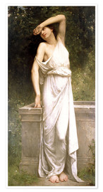 Premium-plakat A Classical Beauty by a Well