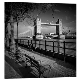 Akrylbillede  LONDON Tower Bridge - Melanie Viola