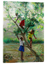 Akrylbillede  guava tree2 - Jonathan Guy-Gladding