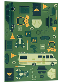 Akrylbillede  Breaking Bad - Tracie Andrews