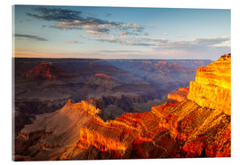 Akrylbillede  Sunset on Grand Canyon South Rim, USA - Matteo Colombo