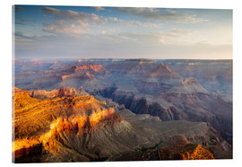 Akrylbillede  Sunrise of Grand Canyon South Rim, USA - Matteo Colombo