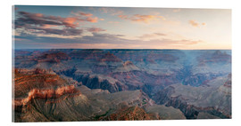 Akrylbillede  Panoramic sunrise of Grand Canyon, Arizona, USA - Matteo Colombo
