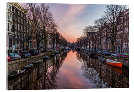 Akrylbillede  Amsterdam Canals at Sunrise - Mike Clegg Photography