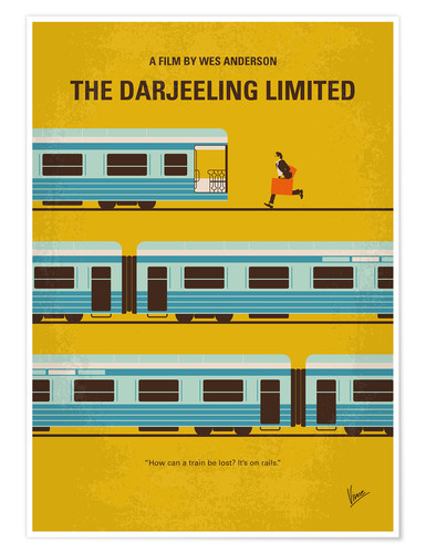 Premium-plakat The Darjeeling Limited