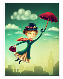 Premium-plakat Mary Poppins