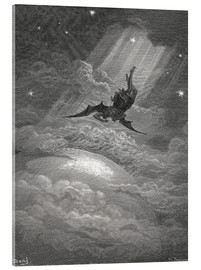Akrylbillede  Paradise Lost - Gustave Doré