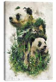 Lærredsbillede  The Giant Panda - Barrett Biggers