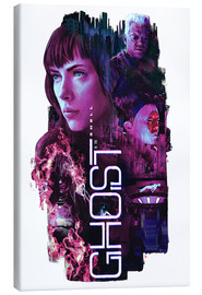 Lærredsbillede  Ghost in the Shell - Barrett Biggers