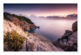 Premium-plakat  Morning light at the lighthouse Cala Ratjada / Capdepera (Majorca / Spain) - Kristian Goretzki