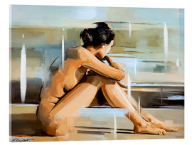 Akrylbillede  In thought - Johnny Morant