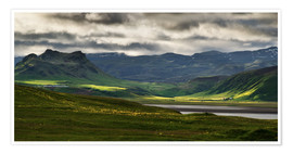 Premium-plakat The beauty of Iceland