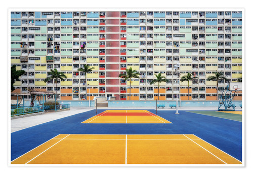 Premium-plakat Living in a rainbow, Hong Kong