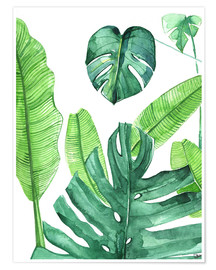 Premium-plakat Tropical leaves