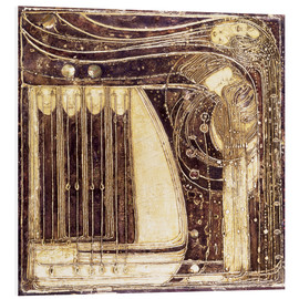 Print på skumplade  The Opera of the Sea - Margaret MacDonald Mackintosh