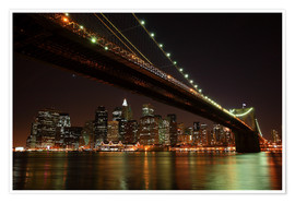 Premium-plakat Manhattan Skyline, New York, United States