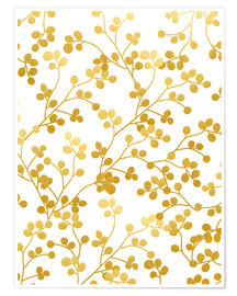 Premium-plakat Golden Vines