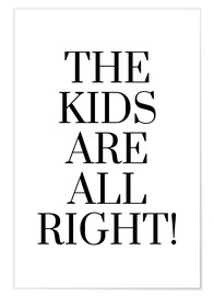 Premium-plakat The kids are all right!