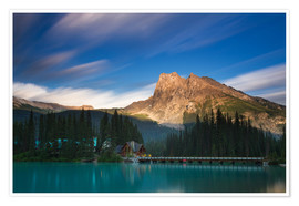 Premium-plakat Emerald Lake, British Columbia - Long Exposure